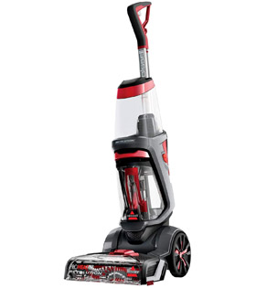 BISSELL ProHeat 2X Revolution | Upright Cleaner | Carpets Dry in About 30 Minutes | Powerful Suction for Professional Results | 18583, Plastic, 800 W, 4.5 liters, Titanium/Red Berends