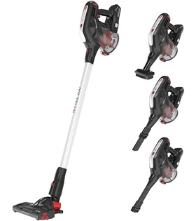 Hoover H-FREE 200 3in1 Cordless Stick Vacuum Cleaner, HF222RH, Lightweight, Powerful, 22v, Agile, Silver