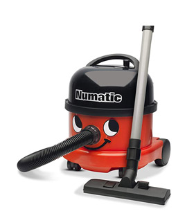 Numatic NRV 240-11 Dry Vacuum Cleaner, 9 Litre, 580 W, Red [Energy Class C]