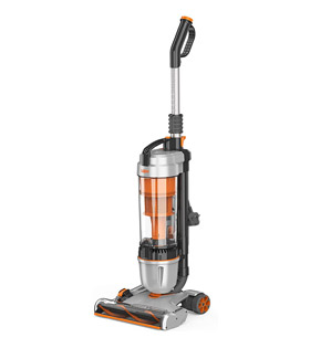 Vax U85-AS-Be Air Stretch Upright Vacuum, 1.5 Litre, 820 W - Silver/Orange[Energy Class A] [Energy Class A]