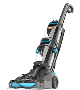 Vax ECR2V1P Dual Power Pet Advance Carpet Cleaner, Plastic, 800 W, 4.2 liters, Grey/Blue
